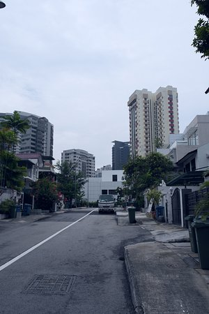 Orchard Road, Singapur: Residence behind Lucky Plaza