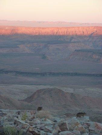 Fish River Canyon, Namibya: Lever du jour sur le Canyon