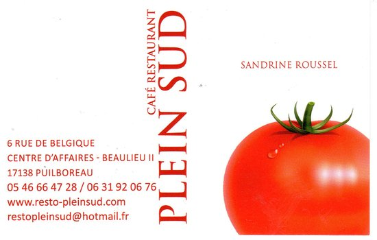 Puilboreau, Frankrig: La carte de visite
