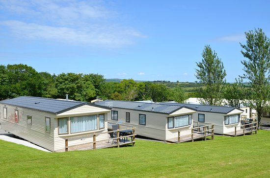 Polgooth, UK: Exterior of Static Caravans