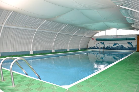Polgooth, UK: Indoor Swimming Pool