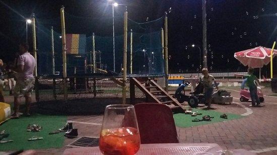 Occhiobello, Italie : Rosso di Sera