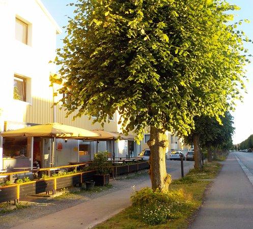 Enkoping, Σουηδία: Uteserveringen