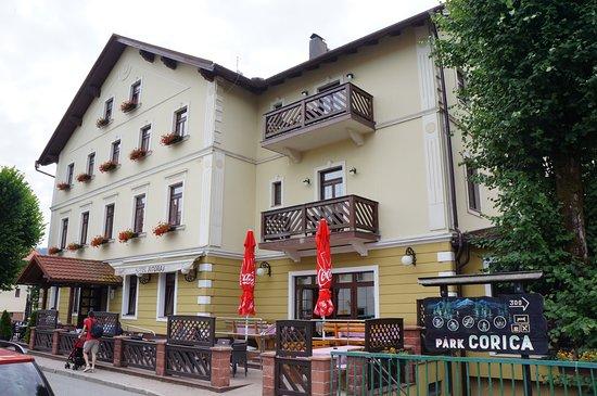 Fuzine, Hırvatistan: vue de l'hotel