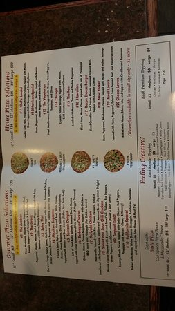 Village Pizzeria menu