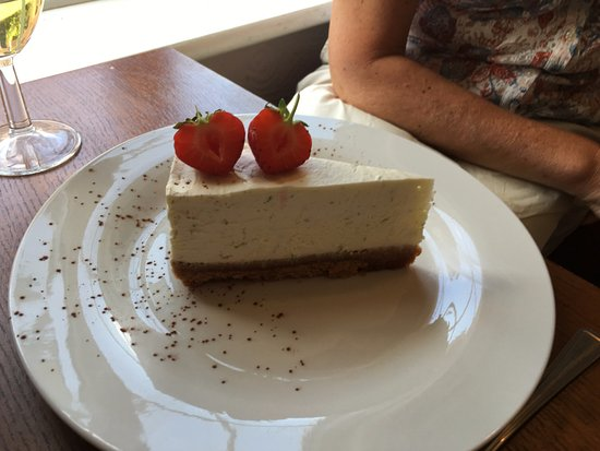 Bicester, UK: Cheesecake