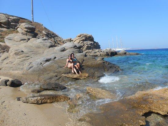 Tourlos, Hellas: playa cercana, a una cuadra del hotel