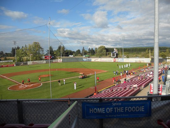 Keizer, OR: From a box seat.