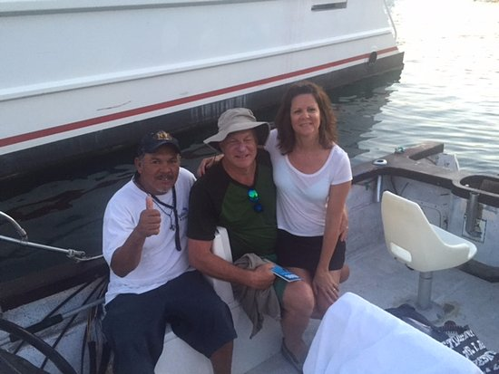 """Sushi Time Sport Fishing: Our """"good luck' photo!"""