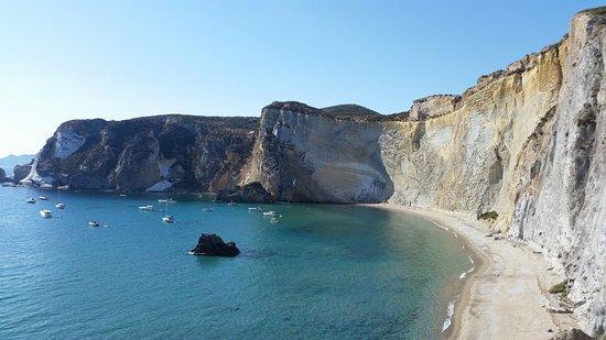 vista panoramica dalla terrazza - Foto di Chiaia Di Luna, Isola di ...