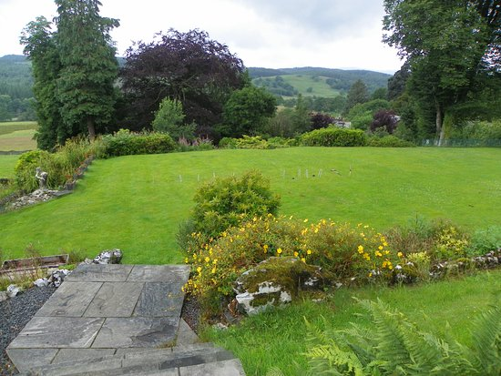 Sawrey, UK: view from patio