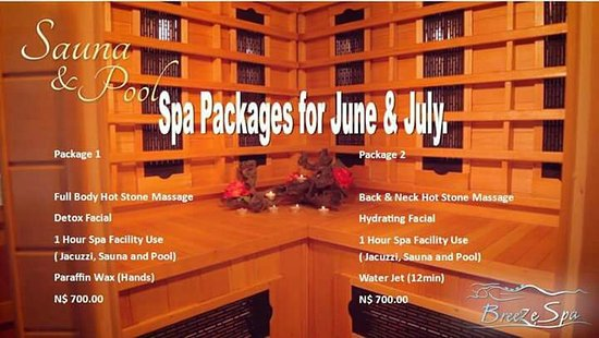 Walvis Bay, Namíbia: June & July Spa Packages
