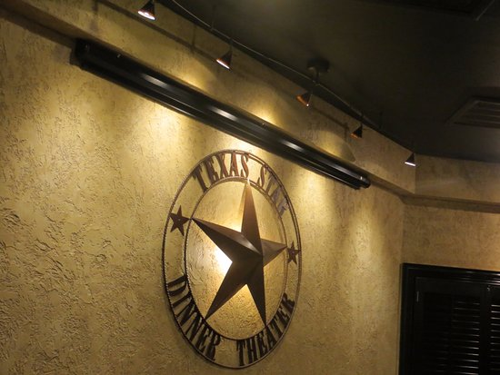 Texas Star Dinner Theater: Logo on the wall