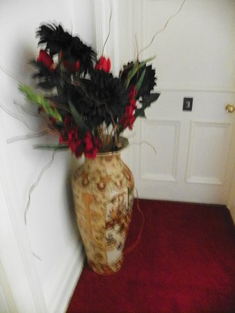 Sawrey, UK: decor on landing