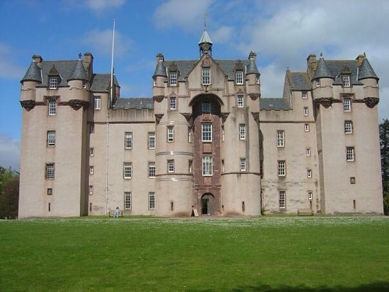 Fyvie, UK: Beautiful castle
