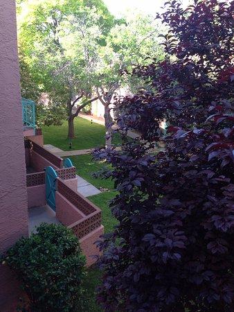 Villas of Sedona : Looking down from the loft