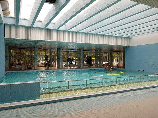 هوتل تيرمي نيرونيان: la piscina coperta