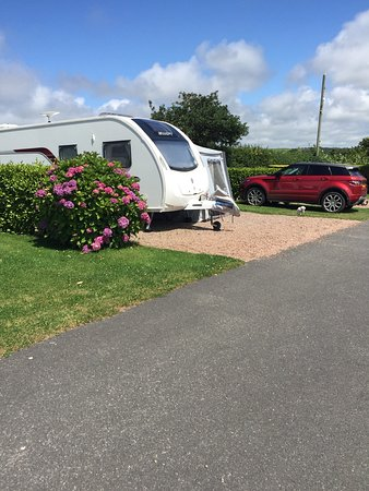 Poughill, UK: Premier Touring pitch