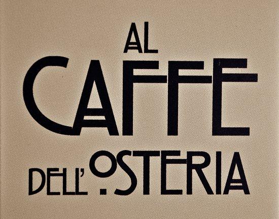 Pella, Italia: Logo di Al Caffè dell'Osteria