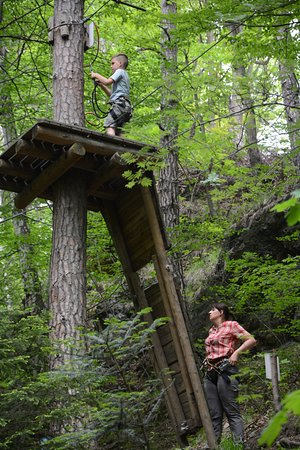 Leśny Park Przygody Skalisko : Skalisko Zip Line Park