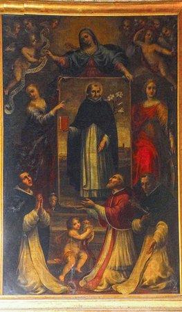 Gubbio, Włochy: S. Domenico in Soriano 1673 ca. - Francesco Allegrini