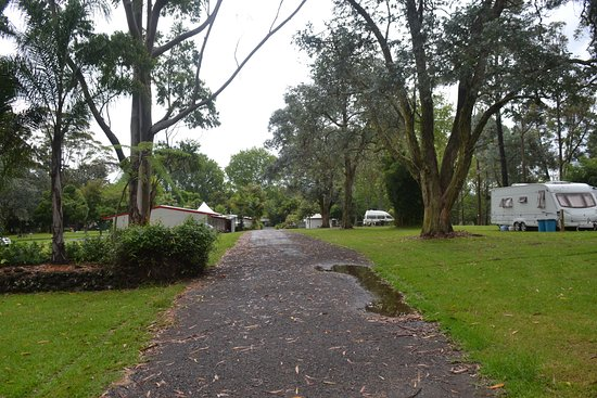 Bay of Islands Holiday park: an overview of the camping