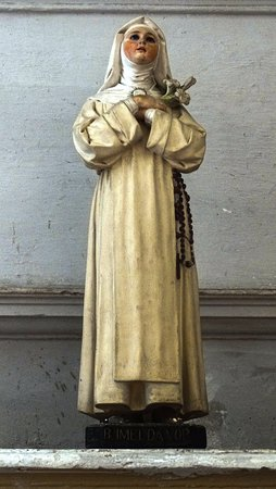 Gubbio, Włochy: Statua della Beata Imelda
