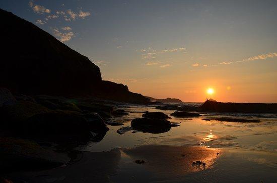 Trebarwith, UK: Sun...