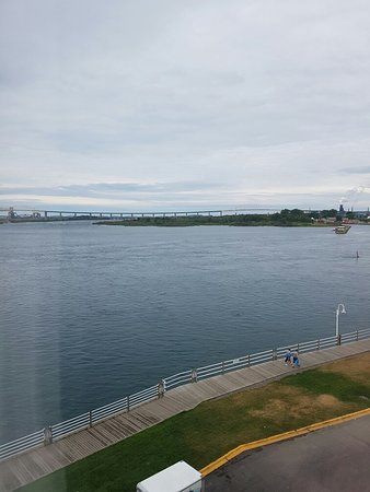 Sault Ste. Marie, Kanada: Room with a view