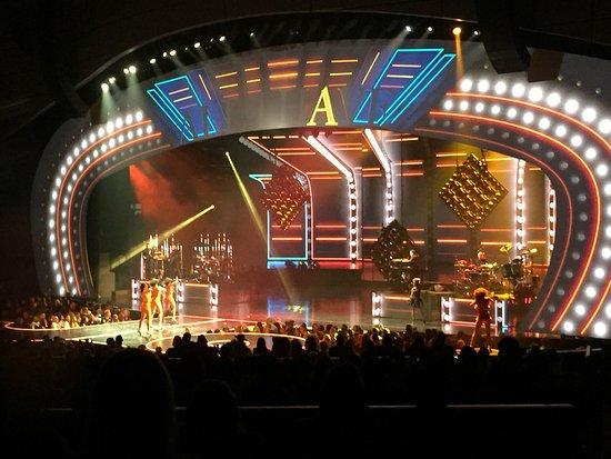 North Las Vegas, نيفادا: JLo show