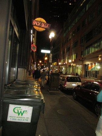 Hyatt Regency Boston: This is the area near the hotel