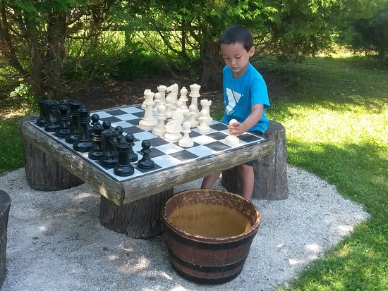 Egg Harbor, WI: Chess anyone?