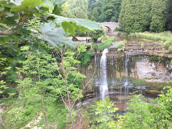 Waterfalls of Hamilton: Webster's falls from a different angle