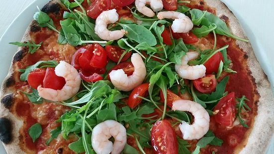 Mazze, Italy: Pizza Primavera.