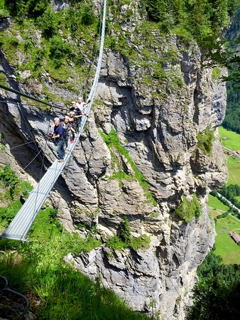 Murren, สวิตเซอร์แลนด์: Cable Bridge