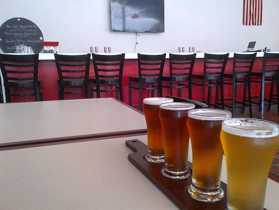 Tarboro, Caroline du Nord : flight overlooking the bar