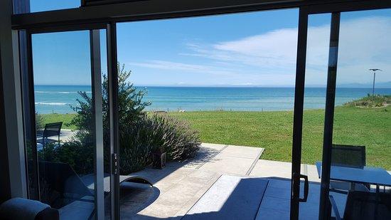 Motueka, New Zealand: Ocean view from living area