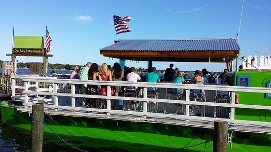 Lantana, FL: Cool bar in back