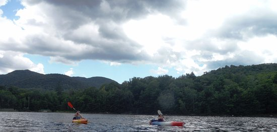 Killington, VT: Lake Kayaking