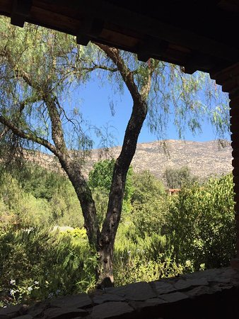 Rancho La Puerta Spa: This is a view from our Luna 2 casita.