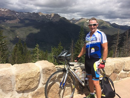 Gilded Pine Meadows Bed and Breakfast: Biked Trail Ridge Road from Estes to Grand Lake, and return
