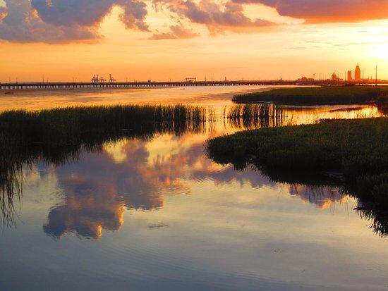 Spanish Fort, AL: Start of the Sunset