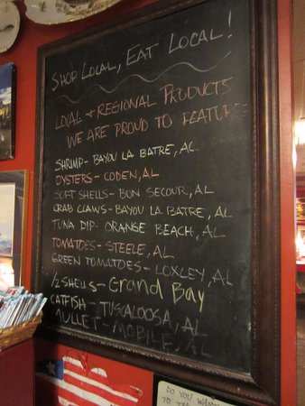 Spanish Fort, AL : Eat Local
