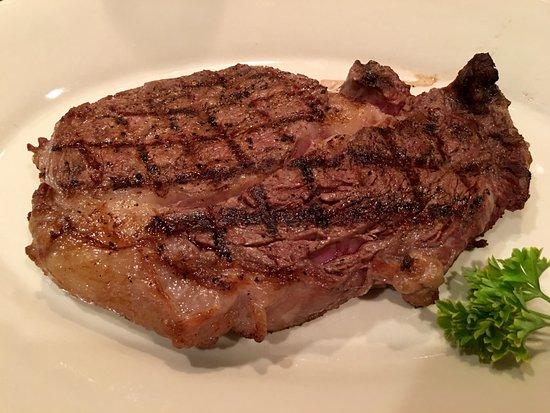 Wabash, IN: The Market Grill Ribeye Steak