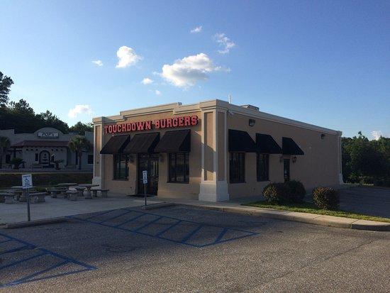 Touchdown Burgers of Enterprise.