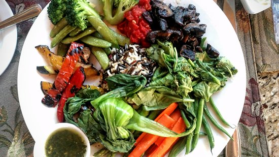 Suzanne's Cuisine: Vegetable plate