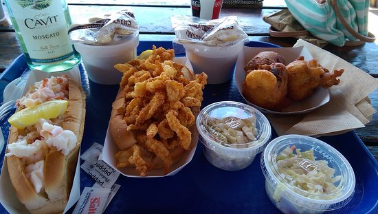 New London, CT: Lunch Spread