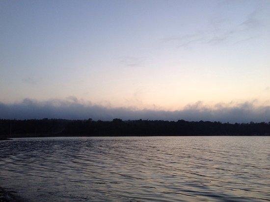St Ann's Motel & Cottage: Sonnenuntergang vom Motel aus