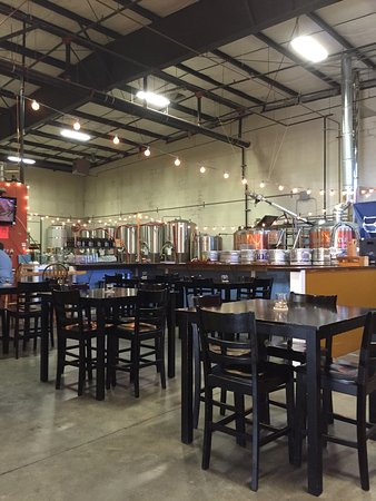 Everett, WA: Inside of brewery