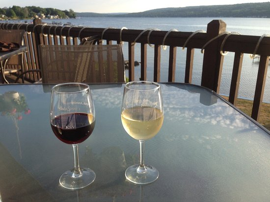 Top of the Lake: Cheers on the deck